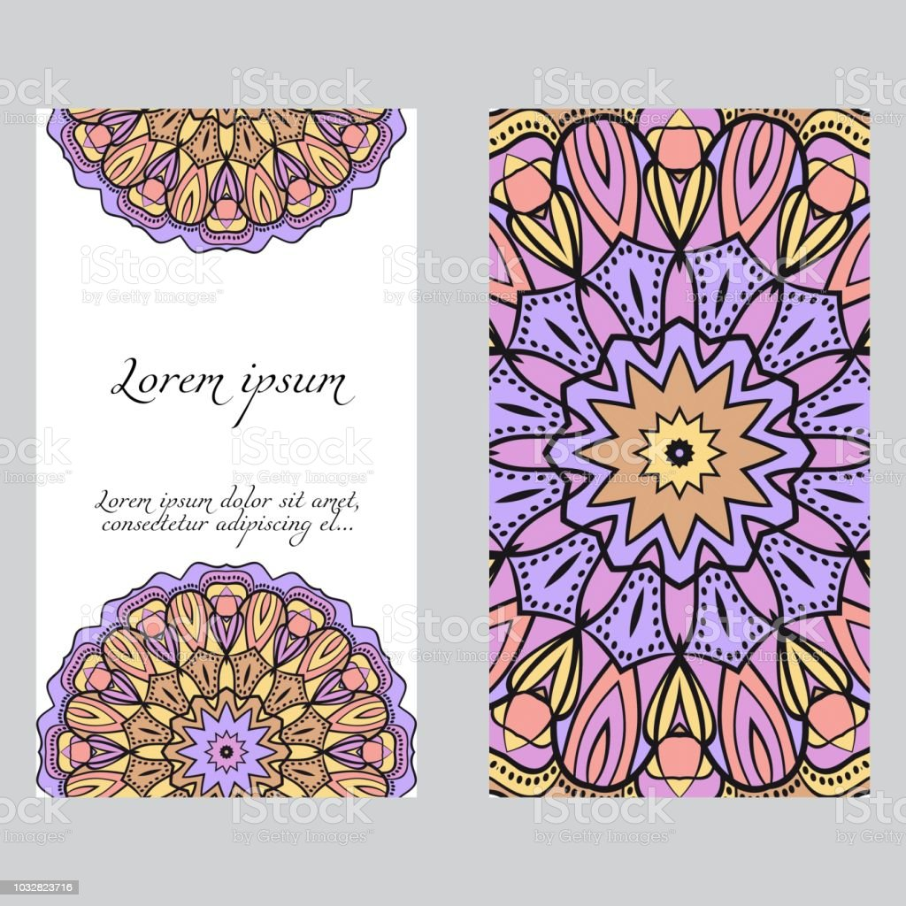 Invitation or card template with floral mandala pattern for wedding invitation or card template with floral mandala pattern for wedding greeting cards birthday m4hsunfo