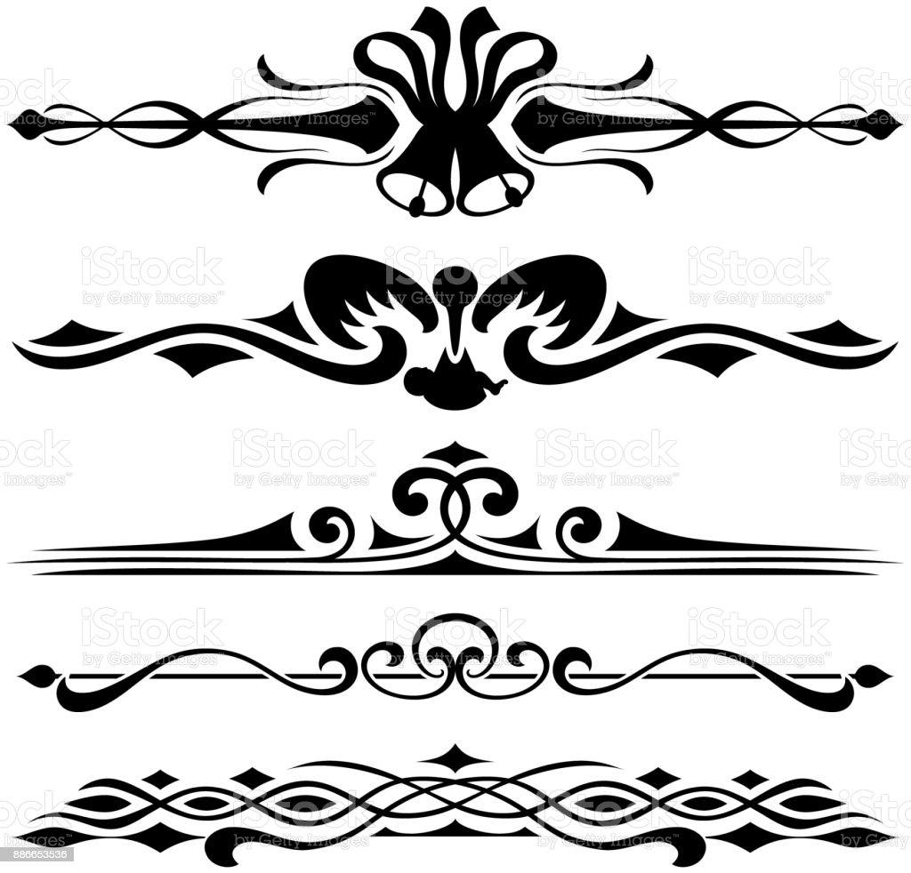 Invitation swirls and borders design elements stock vector art invitation swirls and borders design elements royalty free invitation swirls and borders design elements stock stopboris Choice Image