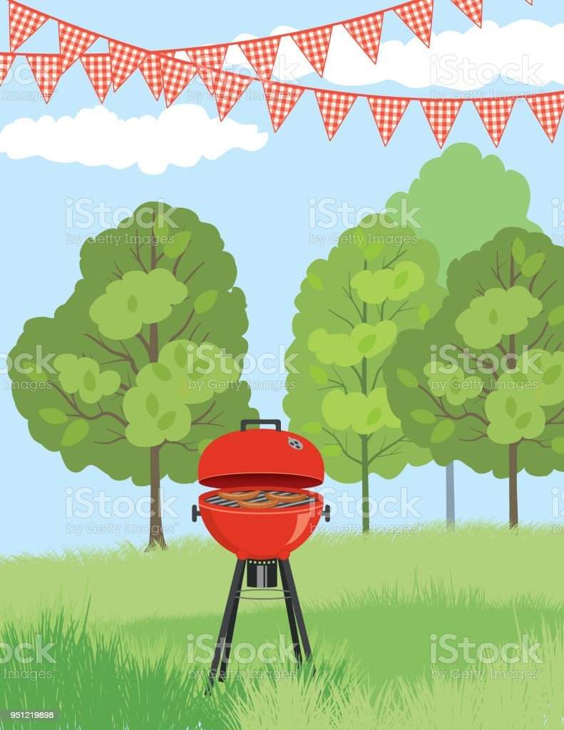Bbq Invitation Template | Bbq Invitation Template Stock Vector Art More Images Of Barbecue
