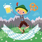 Invitation to an Octoberfest Beer Party.