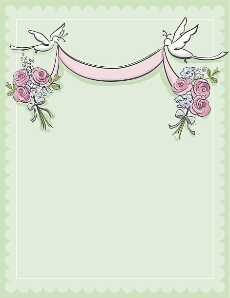 invitation - heather mcgrath stock illustrations