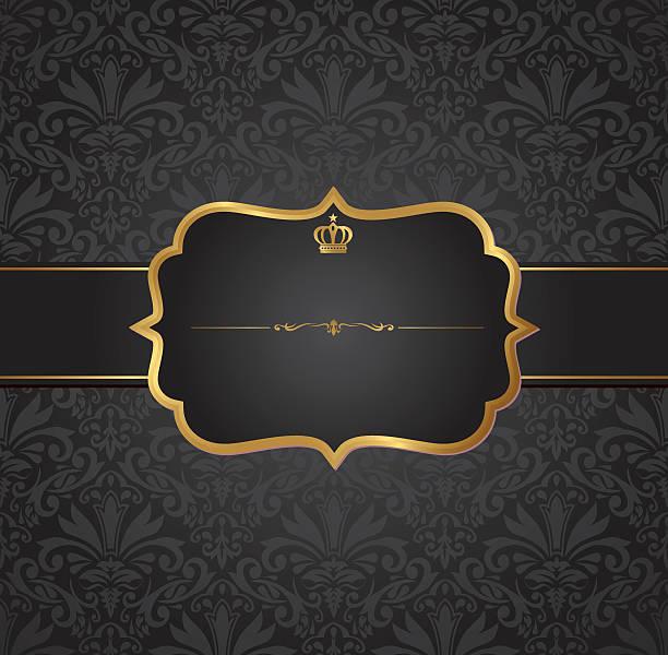 invitation vintage label vector frame invitation vintage label vector frame bad condition stock illustrations