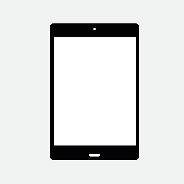 ipad ikona - ipad stock illustrations