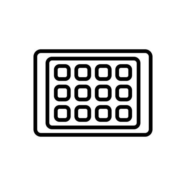 ipad tablet - ipad stock illustrations