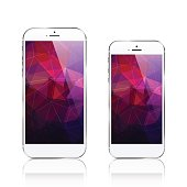 istock iPhone 6 plus / triangular abstract background 809232994