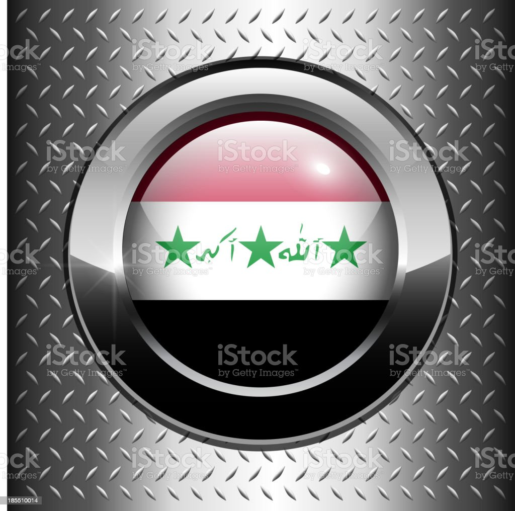 Iraq flag button royalty-free iraq flag button stock vector art & more images of authority