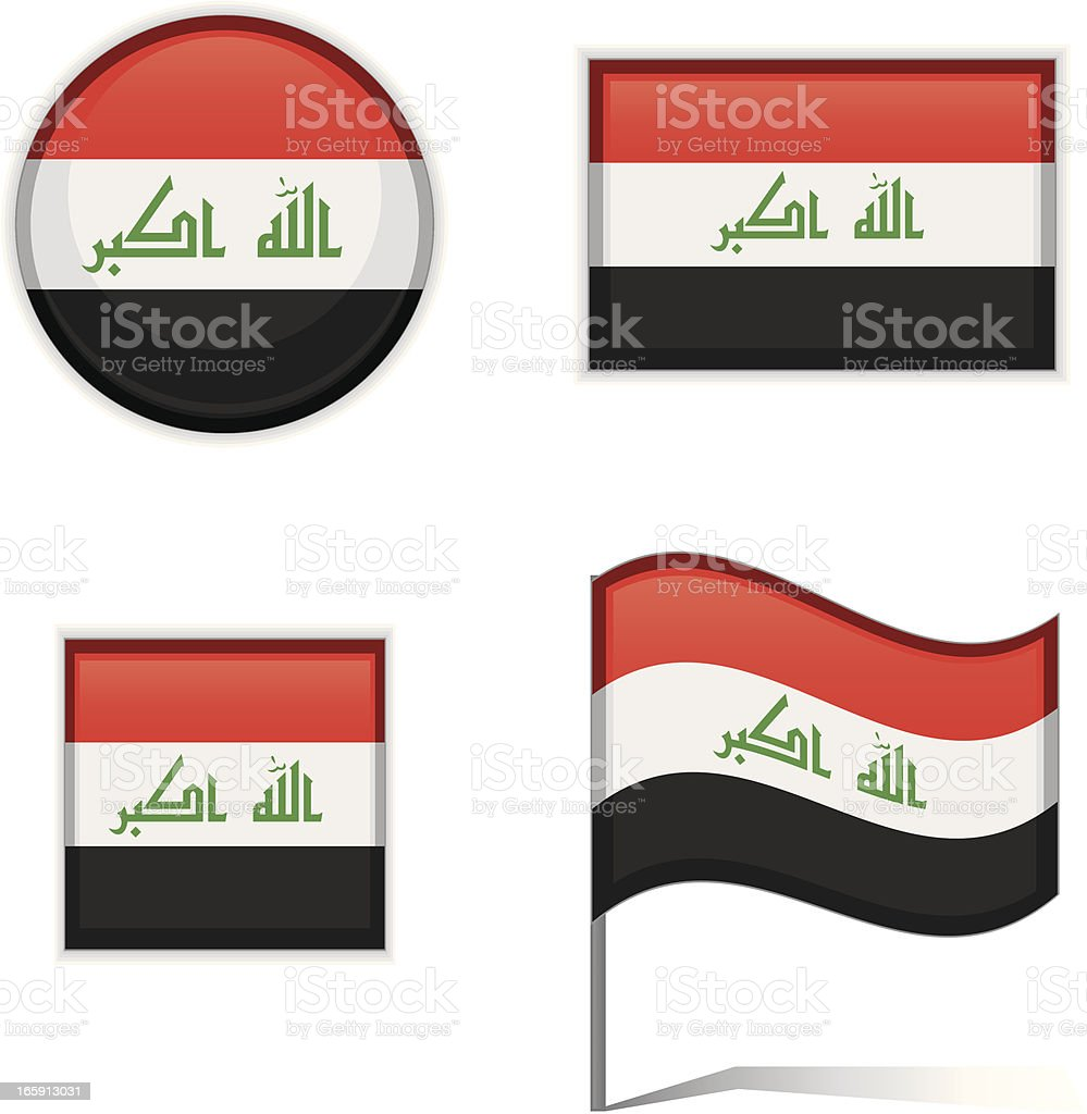 Iraq flags royalty-free iraq flags stock vector art & more images of badge