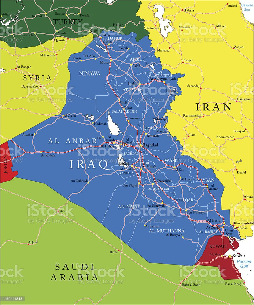 al fallujah arbil asia baghdad basra iraq map