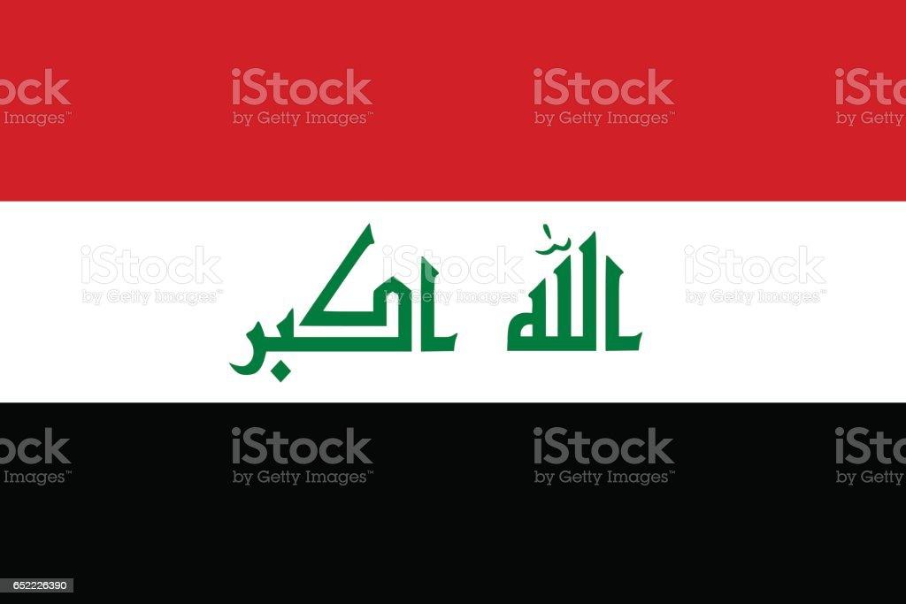 Iraq vector art illustration