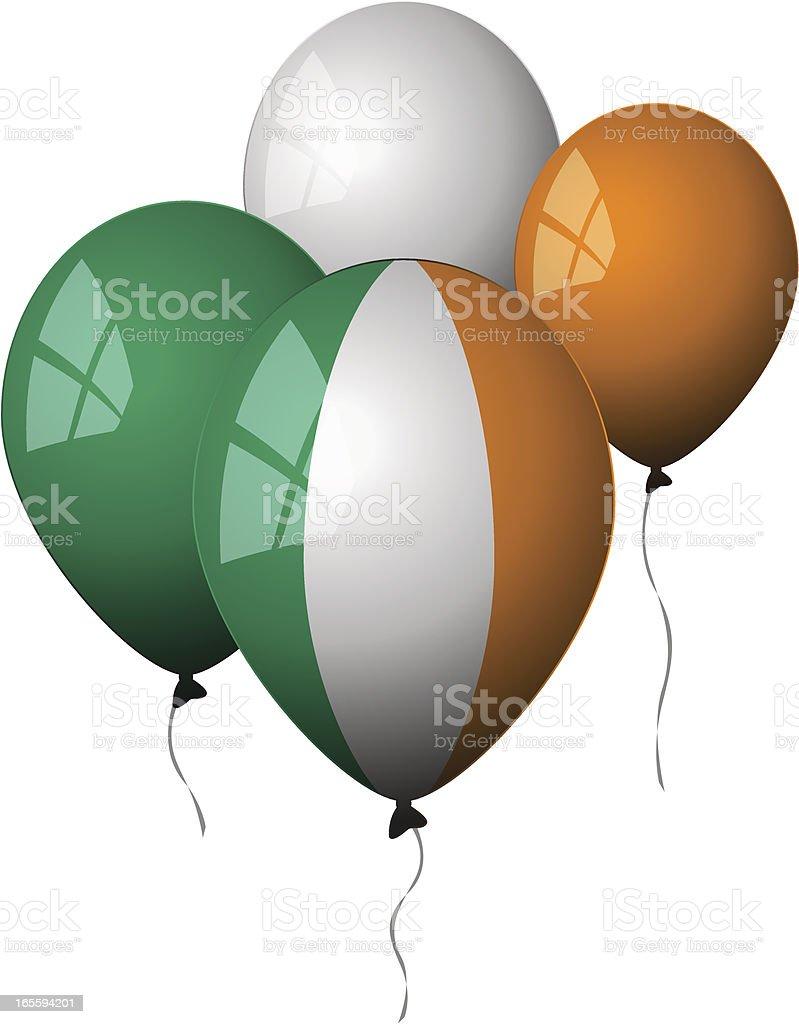 Ireland - Balloons royalty-free stock vector art