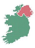 Ireland Dot Map