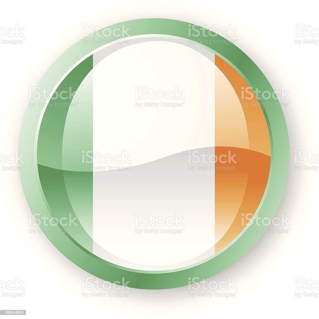 Ireland Flag Icon royalty-free ireland flag icon stock vector art & more images of circle