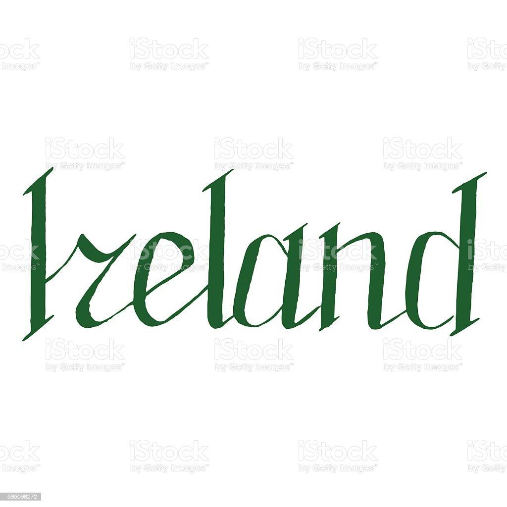 Годов, картинки ирландия с надписью