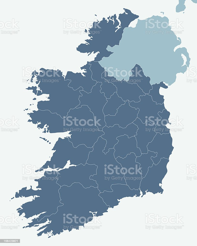 Ireland royalty-free stock vector art