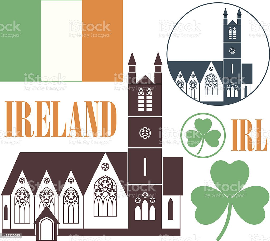 Ireland royalty-free stock vector art