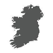 istock Ireland vector map. 680909634
