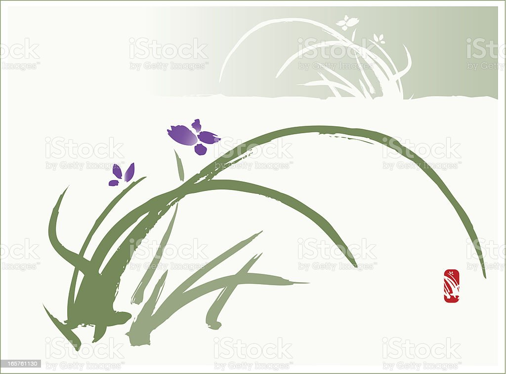 Iris royalty-free iris stock vector art & more images of chinese culture