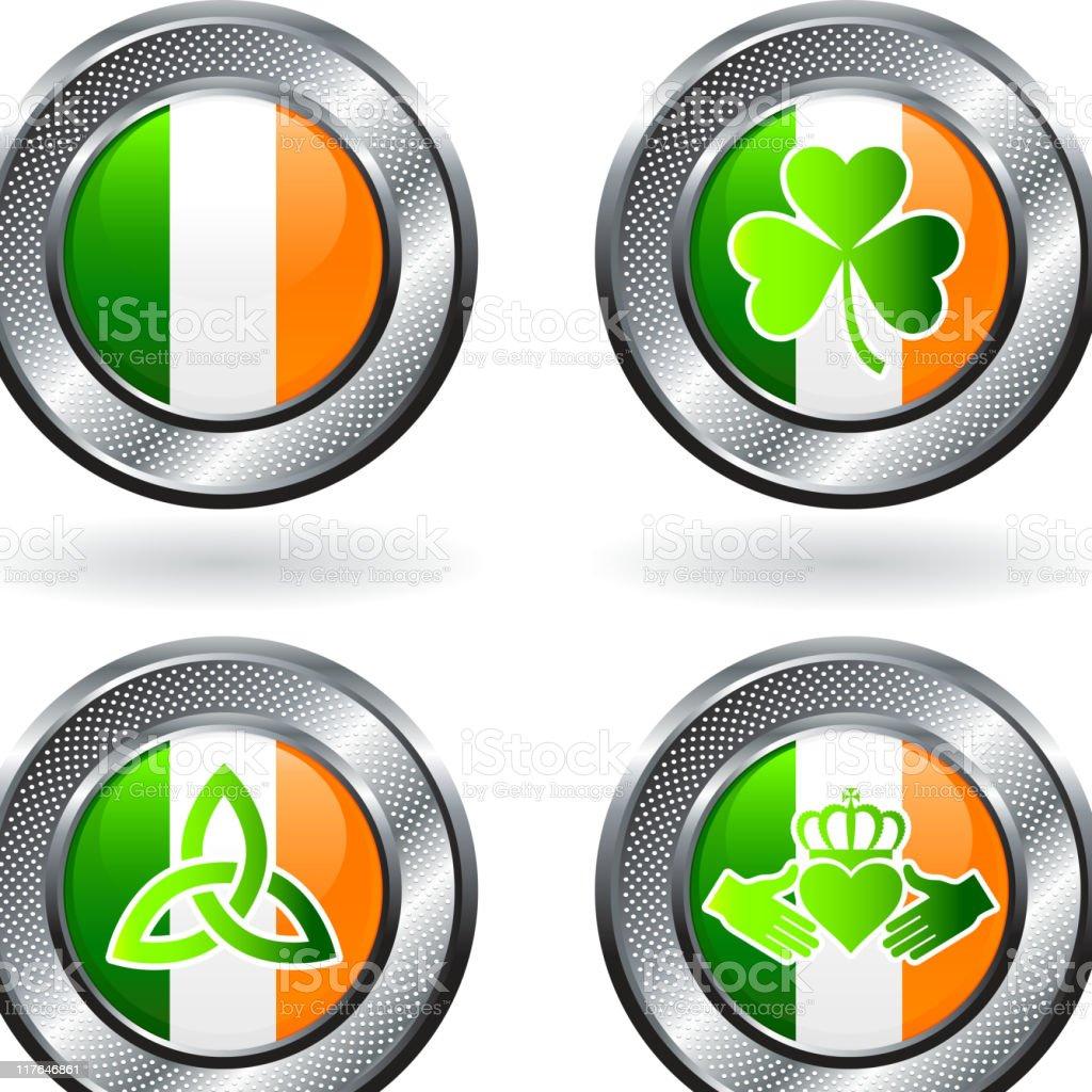 Irish culture royalty free vector artography set royalty-free irish culture royalty free vector artography set stock vector art & more images of blank