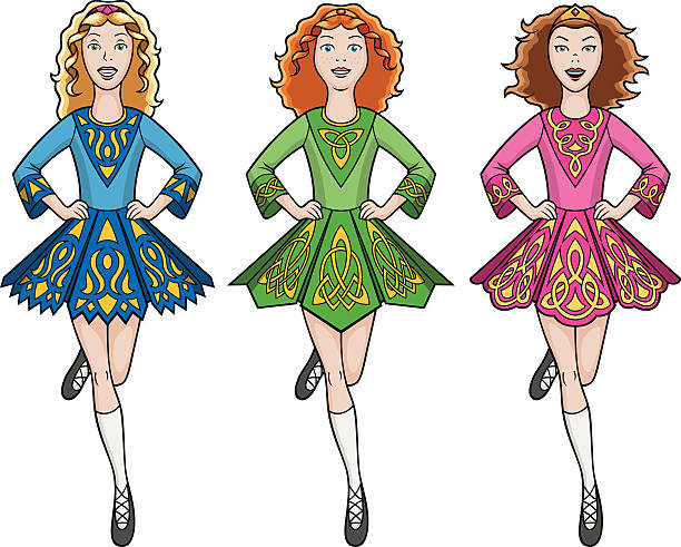 Image result for irish dance illustration