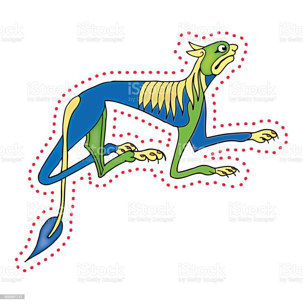 Irish Dog vector art illustration