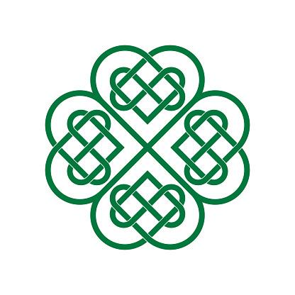 Irish four-leaf clover
