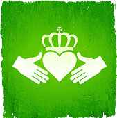 Irish Friendship on royalty free vector Background