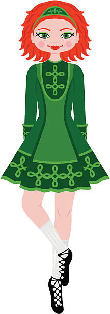 Royalty Free Irish Dance Clip Art, Vector Images ...