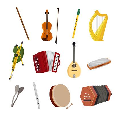 Irish Musical Instruments
