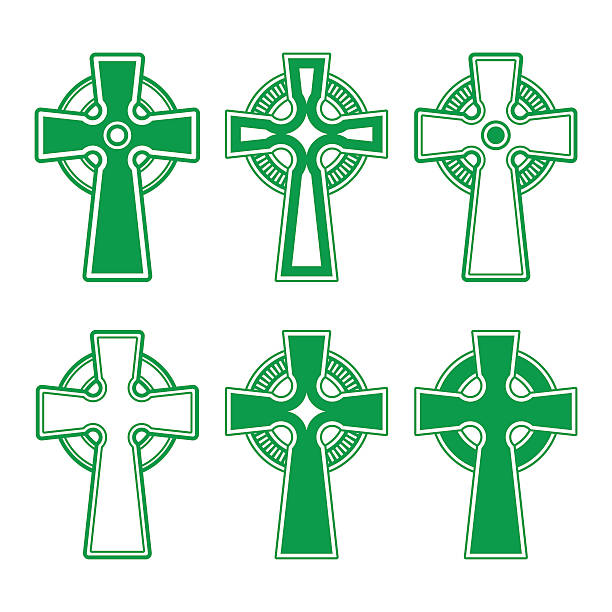 Royalty Free Celtic Cross Clip Art Vector Images Illustrations