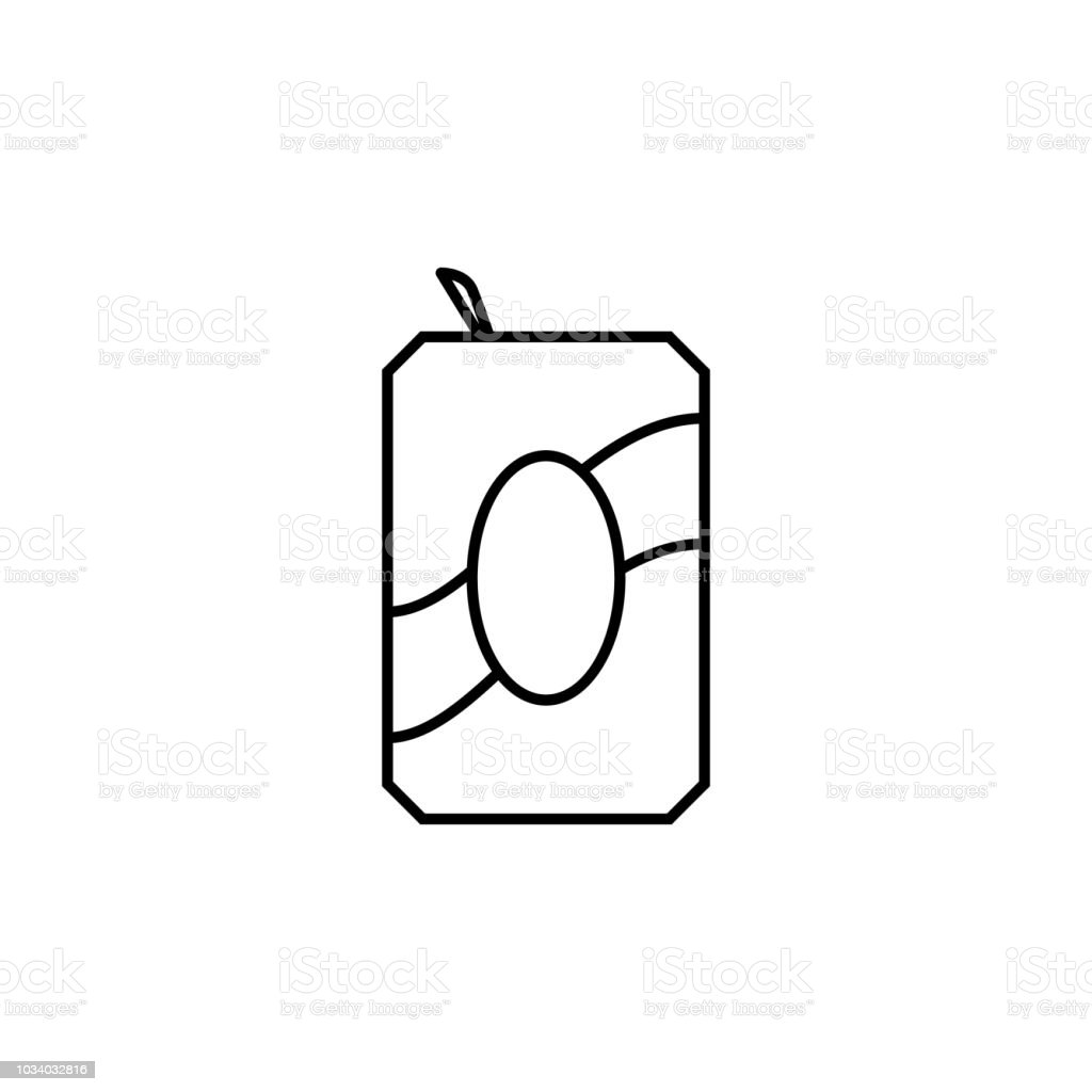 Iron Jar Of Juice Icon Element Of Food Icon For Mobile