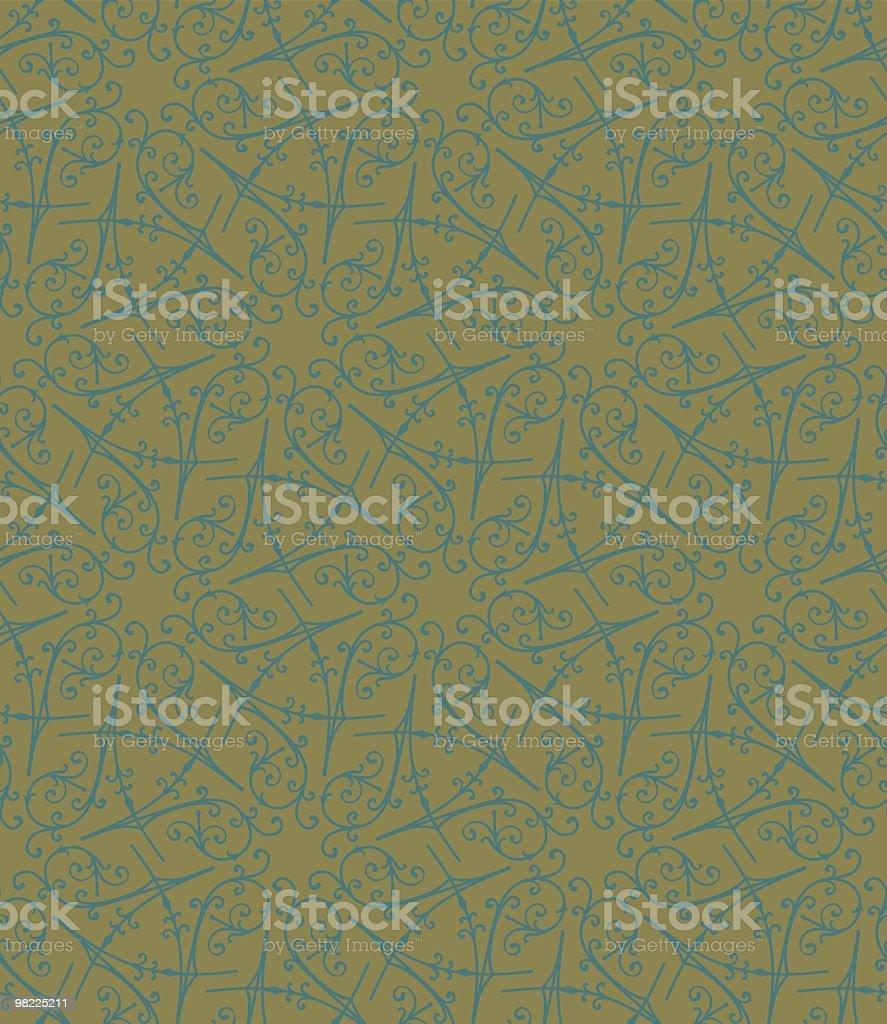 Arredi in ferro battuto carta da parati arredi in ferro battuto carta da parati - immagini vettoriali stock e altre immagini di carta da parati royalty-free