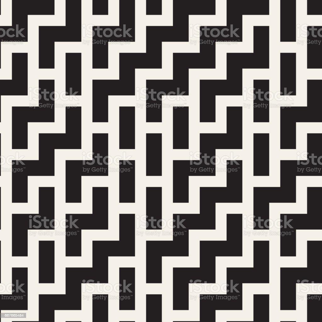 Unregelmäßige Labyrinth Formen Zeitgenössisches Grafikdesign Mit ...
