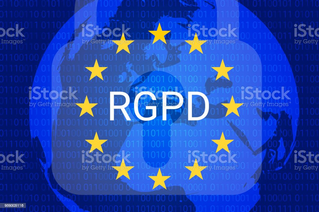 Rgpd Is Gdpr General Data Protection Relation In French Italian