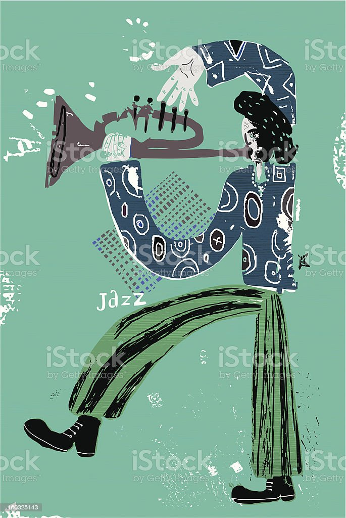 Is jazz royalty-free stock vector art