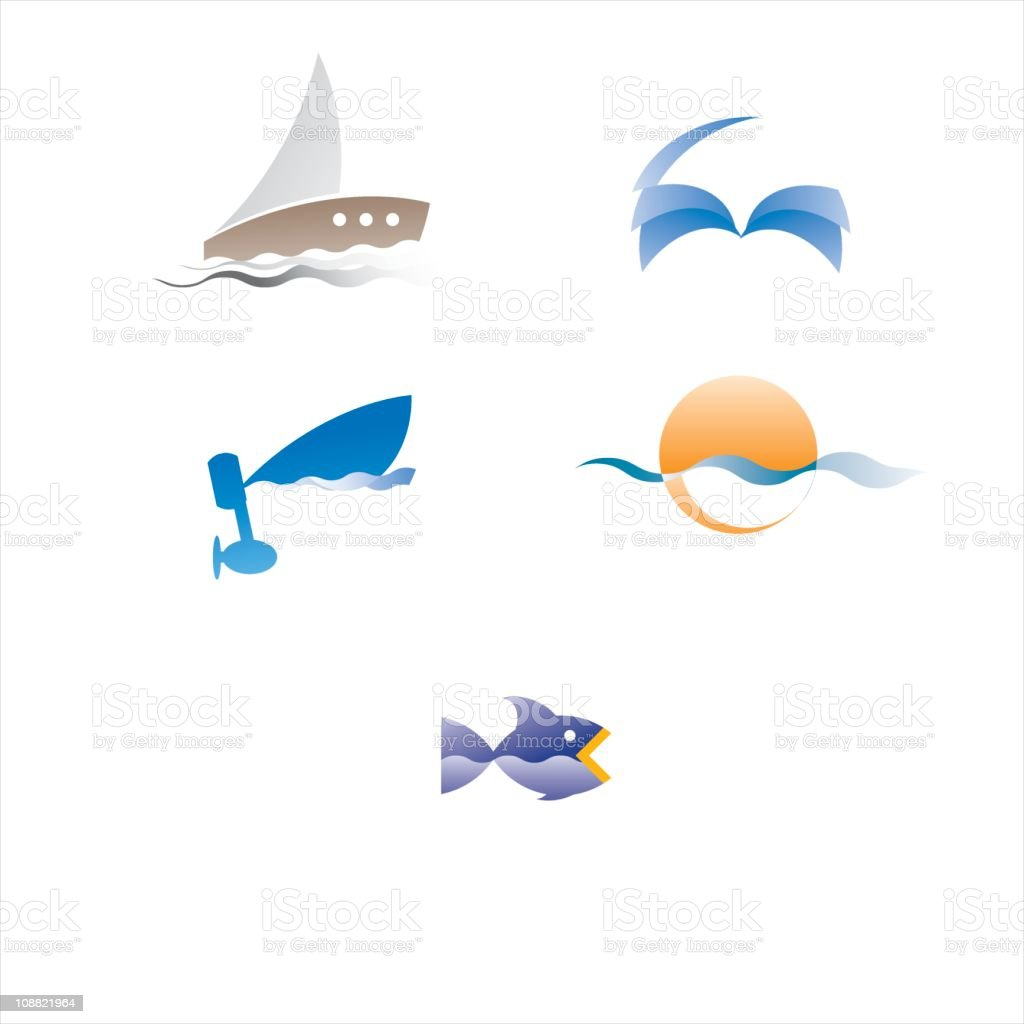 sea no 1 royalty-free sea no 1 stock vector art & more images of blue