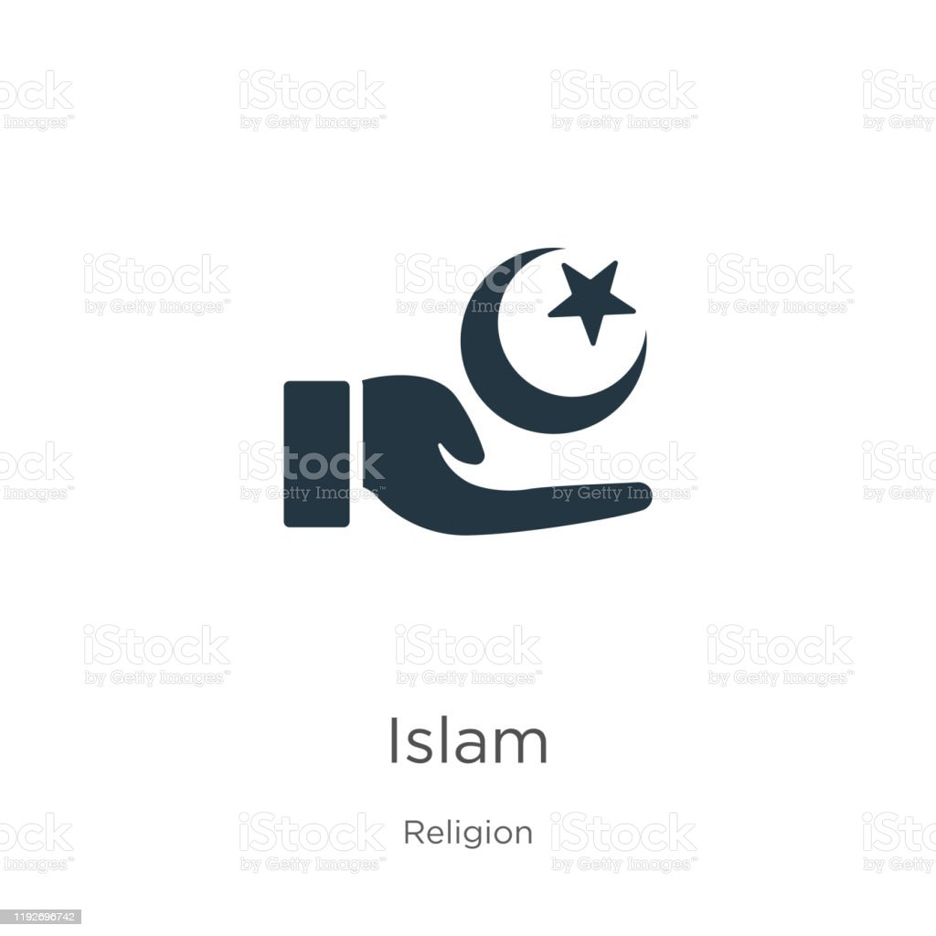 islam icon vector trendy flat islam icon from religion collection isolated on white background vector illustration can be used for web and mobile graphic design logo eps10 stock illustration download image https www istockphoto com vector islam icon vector trendy flat islam icon from religion collection isolated on white gm1192696742 338970839