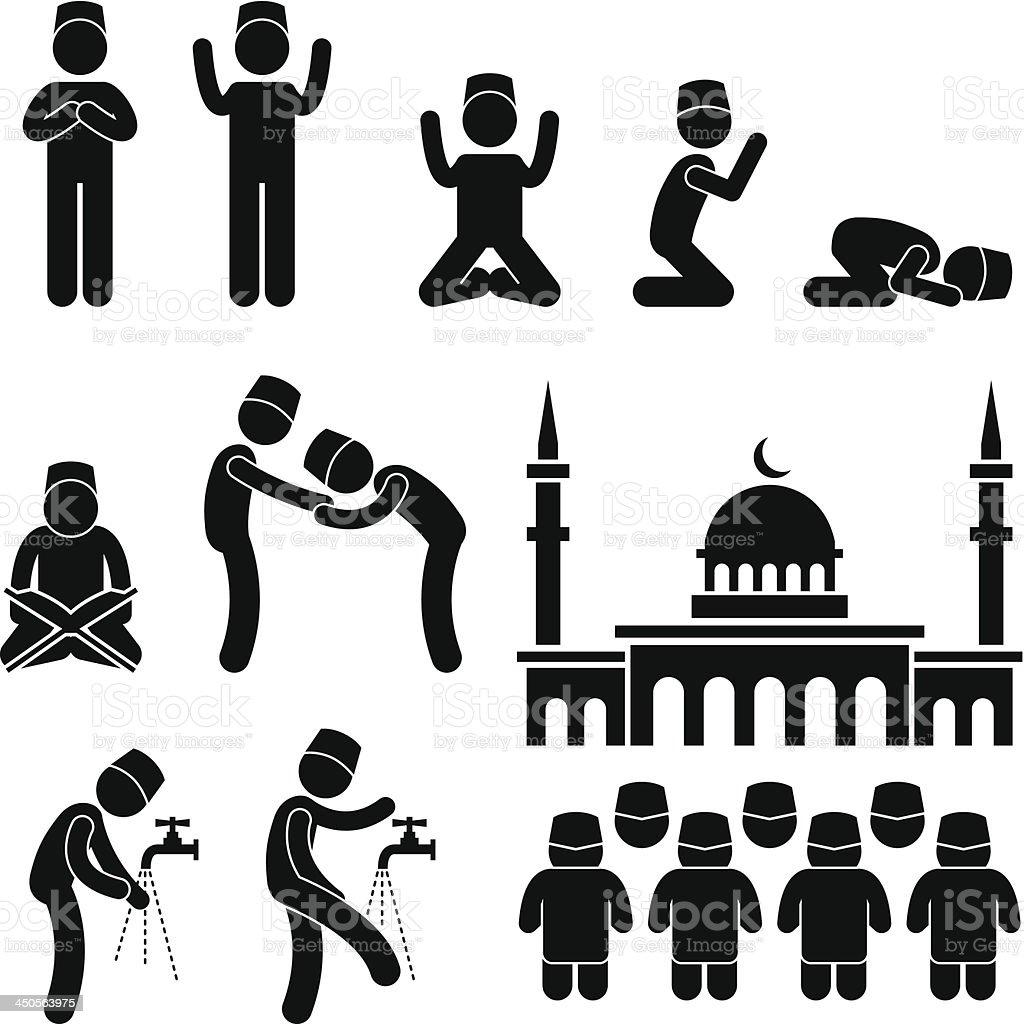 Islam Muslim Religion Culture Pictogram