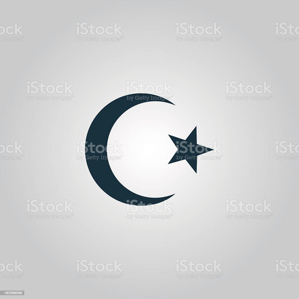 Islam symbol vector art illustration