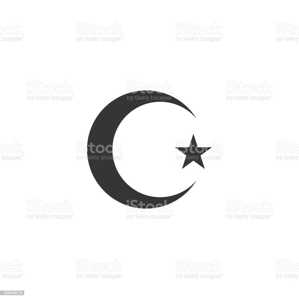 Islam Symbol Stock Vector Art More Images Of Cut Out 925079216