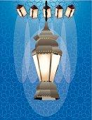 Islamic background and ramadan art