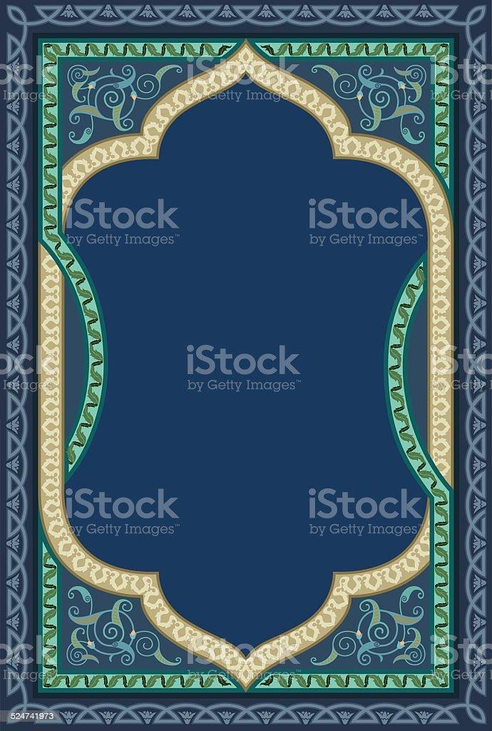 Islamic decorative art in high quality details vector art illustration
