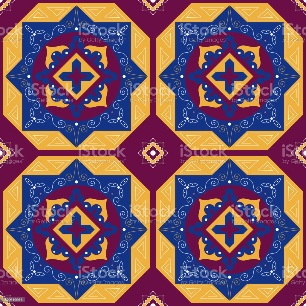 Islamic Design Decoration Arabic Carpet Pattern Royalty Free