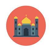 Free download of Mosque Minar vector graphics and illustrations