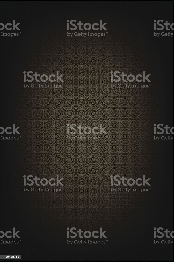 Islamic floral pattern background royalty-free stock vector art
