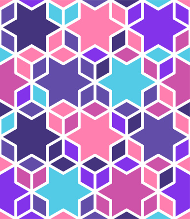 Islamic Geometric Vector Pattern Design