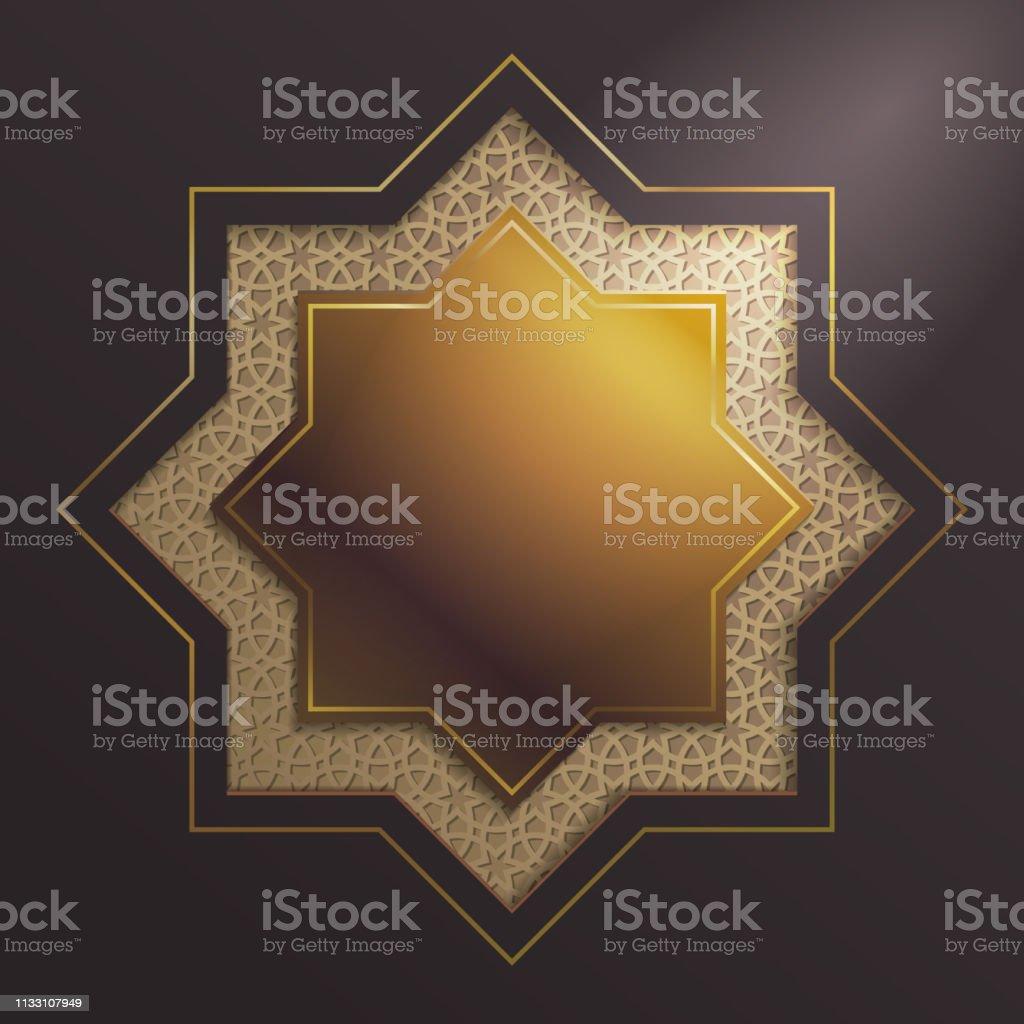 Islamic graphic & design vector art illustration