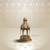 islamic greeting ramadan kareem card desigs and crescent moon