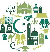 Islamic Icon Set