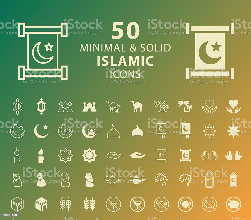 Islamic Icons.