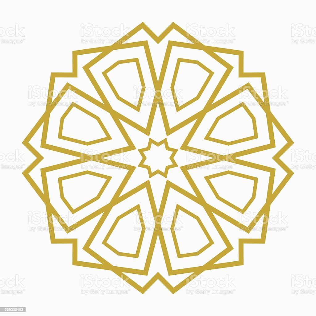 Islamic or arabic shape royalty-free islamic or arabic shape stock vector art & more images of abstract